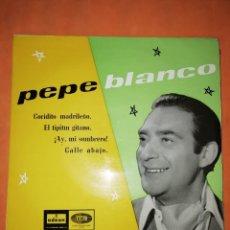 Discos de vinilo: PEPE BLANCO. COCIDITO MADRILEÑO. EMI ODEON 1959. Lote 245463745