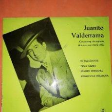 Discos de vinilo: JUANITO VALDERRAMA. EL EMIGRANTE. COLUMBIA. 1967. Lote 245465320