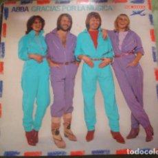 Discos de vinilo: ABBA GRACIAS POR LA MUSICA. Lote 245465355