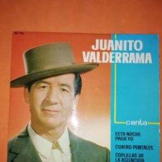 Discos de vinilo: JUANITO VALDERRAMA. ESTA NOCHE PAGO YO. BELTER 1963. Lote 245466565
