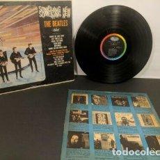 Discos de vinilo: THE BEATLES - SOMETHING NEW 1964 !! RARA EDIC ORG USA MONO T 2108 SOLO EDITADO EN USA, COLLECTORS EX. Lote 245467180