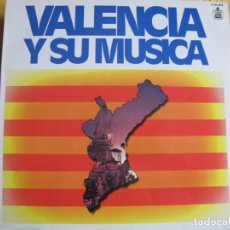 Discos de vinilo: LP - VALENCIA Y SU MUSICA-BANDA DE LA POLICIA ARMADA Y DE TRAFICO DE MADRID/COROS Y DANZAS DE ESPAÑA. Lote 245469775