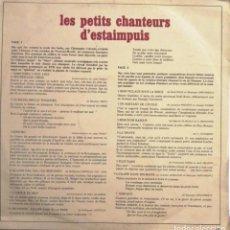Discos de vinilo: LES PETITS CHANTEURS D´ESTAIMPUIS / LP BARCLAY RF-3901 ,. Lote 245471330