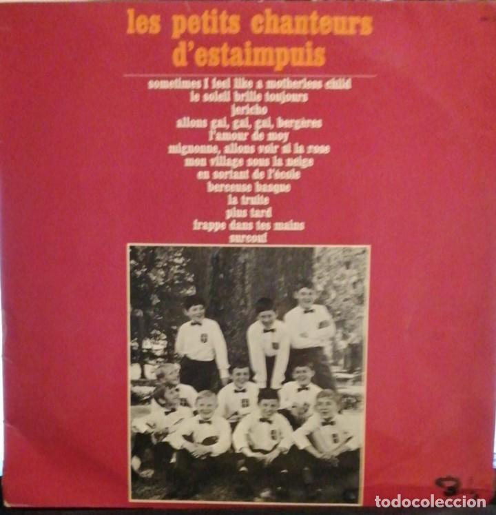 Discos de vinilo: LES PETITS CHANTEURS D´ESTAIMPUIS / LP BARCLAY RF-3901 , - Foto 2 - 245471330