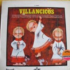 Discos de vinilo: LP - VILLANCICOS - ESCOLANIA DE SAN ANTONIO DE CUATRO CAMINOS (VINILO DE COLOR ROJO, MOVIEPLAY 1968). Lote 245471560
