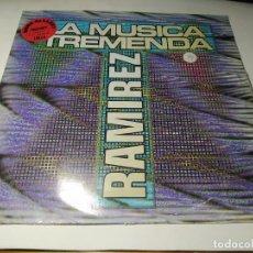 Discos de vinilo: MAXI - RAMIREZ – LA MUSICA TREMENDA - ZYX 6765-12 ( VG+ / G) GERMANY 1992. Lote 245475055
