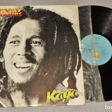 Disques de vinyle: BOB MARLEY & THE WAILERS. LP. KAYA. MADE IN SPAIN. 1978.. Lote 245476275