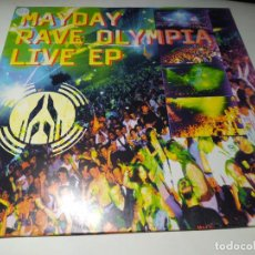 Discos de vinilo: MAXI - MAYDAY - RAVE OLYMPIA LIVE EP - 853 461-1 ( VG+ / VG+) GER 1994. Lote 245476860