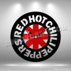 Discos de vinilo: RELOJ DE DISCO LP DE RED HOT CHILI PEPPERS. Lote 245479620