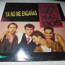 Discos de vinilo: MAXI - LOS RONALDOS – YA NO ME ENGAÑAS - 052 1223536 ( VG+ / VG+) SPAIN 1990. Lote 245480520