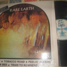 Discos de vinilo: RARE EARTH – GET READY LP 1973/1983 REEDICION ED ESPANOLA. Lote 245480760