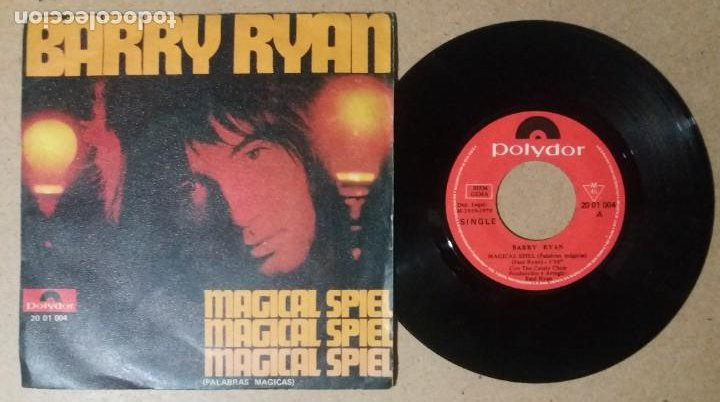 BARRY RYAN / MAGICAL SPIEL / SINGLE 7 PULGADAS (Música - Discos - Singles Vinilo - Pop - Rock - Internacional de los 70)