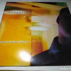 Discos de vinilo: MAXI - INCOGNITO – NIGHTS OVER EGYPT - TLXX 40 - 2LP ( VG+ / VG+) UK 1999. Lote 245481200