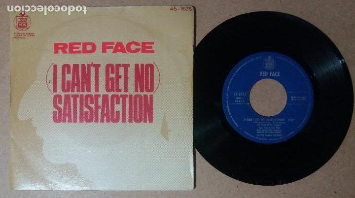 RED FACE / (I CAN'T GET NO) SATISFACTION / SINGLE 7 PULGADAS (Música - Discos - Singles Vinilo - Pop - Rock - Internacional de los 70)