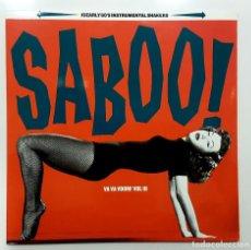 Discos de vinilo: SABOO! VA VA VOOM! VOL III FLORIDA RECORDS FRLP05 (SURF MUSIC MADRID). Lote 245482810