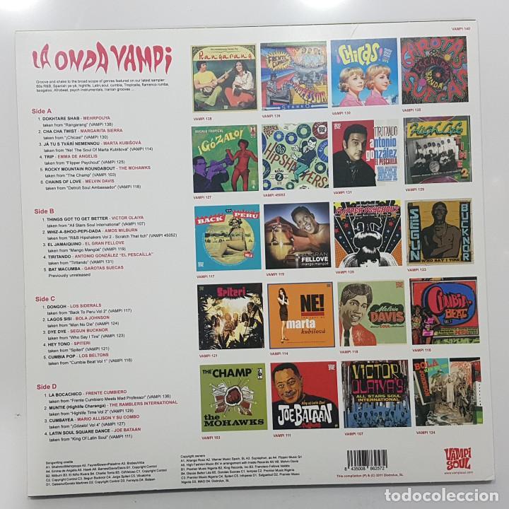 Discos de vinilo: LA ONDA VAMPI. DOBLE LP VAMPISOUL 2011 VAMPI 140 DISTROLUX (Surf Music Madrid) - Foto 2 - 245487495