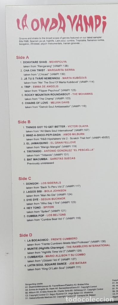 Discos de vinilo: LA ONDA VAMPI. DOBLE LP VAMPISOUL 2011 VAMPI 140 DISTROLUX (Surf Music Madrid) - Foto 3 - 245487495
