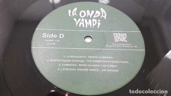 Discos de vinilo: LA ONDA VAMPI. DOBLE LP VAMPISOUL 2011 VAMPI 140 DISTROLUX (Surf Music Madrid) - Foto 9 - 245487495