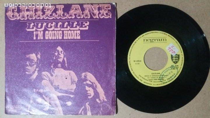 GHIZLANE / LUCILLE / SINGLE 7 PULGADAS (Música - Discos - Singles Vinilo - Pop - Rock - Internacional de los 70)