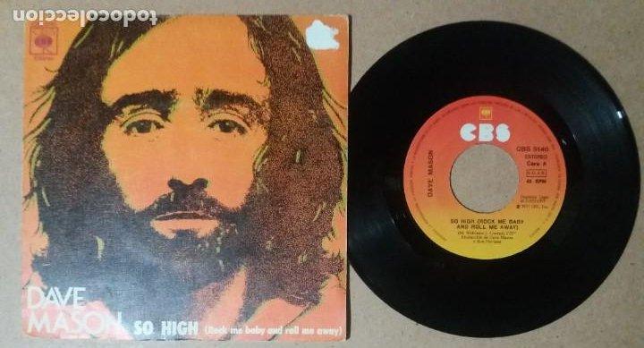 DAVE MASON / SO HIGH / SINGLE 7 PULGADAS (Música - Discos - Singles Vinilo - Pop - Rock - Internacional de los 70)