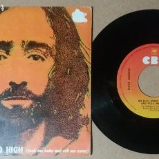 Discos de vinilo: DAVE MASON / SO HIGH / SINGLE 7 PULGADAS. Lote 245490035