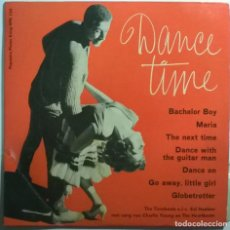 Discos de vinilo: THE TIMEBEATS O.L.V. SID HADDEN. DANCE TIME. THE NEXT TIME + 6. PPK HOLLAND 1963 EP 33 RPM. Lote 245500220