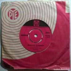 Discos de vinilo: DONOVAN. SUNSHINE SUPERMAN/ THE TRIP. PYE, UK 1966 SINGLE. Lote 245500875