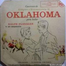 Discos de vinilo: RALPH FLANAGAN Y SU ORQUESTA. OKLAHOMA. CANCIONES DE RODGERS Y HAMMERSTEIN II PARA BAILAR. RCA 1955. Lote 245502070