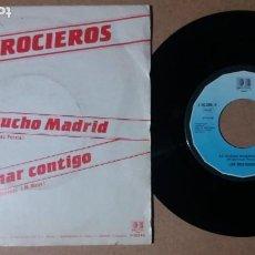 Discos de vinilo: LOS ROCIEROS / ES MUCHO MADRID / SINGLE 7 PULGADAS. Lote 245519895
