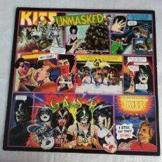 Discos de vinil: DISCO VINILO KISS-UNMASKED.. Lote 245524575