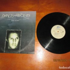 Discos de vinilo: JOHN BARRY - DANCES WITH WOLVES BSO - SPAIN - EPIC - L -. Lote 245531645