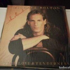 Discos de vinilo: LP-MICHAEL BOLTON- TIME LOVE & TENDERNESS- AÑO 1991. Lote 245532265