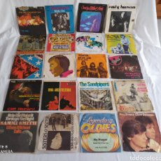 Discos de vinilo: LOTE DE 20 DISCOS 45 RPM.. Lote 245543425
