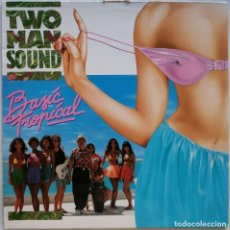 Discos de vinilo: TWO MAN SOUND-BASIC TROPICAL, ARIOLA 210826 (5C). Lote 245544020