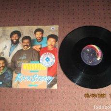 Discos de vinilo: THE WHISPERS - ROCK STEADY - MAXI - GERMANY - SOLAR - PLS 129 - L -. Lote 245550320