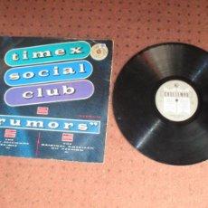 Discos de vinilo: TIME SOCIAL CLUB - RUMORS - MAXI - UK - COOLTEMPO - PLS 152 - L -. Lote 245551975