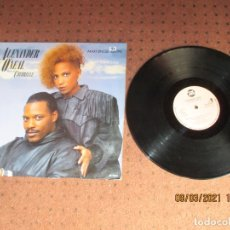 Discos de vinilo: ALEXANDER O´NEAL FEAT CHERELLE - NEVER KNEW LOVE LIKE THIS - MAXI - SPAIN - TABU RECORDS - PLS 153. Lote 245552430
