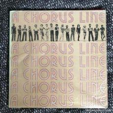 Discos de vinilo: VV.AA. - A CHORUS LINE - ORIGINAL CAST RECORDING - LP COLUMBIA CANADÁ 1975. Lote 245553700