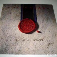 Discos de vinilo: LP WHITESNAKE - SLIP OF THE TONGUE. Lote 52940530