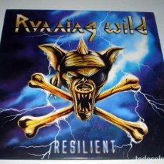 Discos de vinilo: LP RUNNING WILD - RESILIENT. Lote 85329731