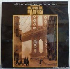 Discos de vinilo: ENNIO MORRICONE – ONCE UPON A TIME IN AMERICA (LP MERCURY 1988 ESPAÑA) MUY BUEN ESTADO. Lote 245568590