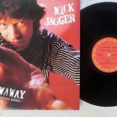 Discos de vinilo: MICK JAGGER THROWAWAY JAPON PROMO VINYL 12. Lote 245585825