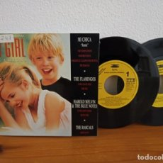 "Discos de vinilo: BSO ""MY GIRL"" - DOBLE SINGLE - EPIC (1992) - PROMOCIONAL. Lote 245591385"