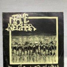 Discos de vinilo: FAME NEGHRA – BENVIDOS A FAMELANDIA (7 EP). Lote 245597165