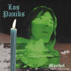 "Discos de vinilo: LOS PANIKS MARIBEL (7"") . VINILO GARAGE ROCK AND ROLL DEAD MOON GUN CLUB. Lote 245601435"