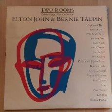 Discos de vinilo: ELTON JOHN - TWO ROOMS. Lote 245609795