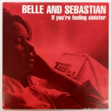 Discos de vinilo: BELLE AND SEBASTIAN -IF YOU'RE FEELING SINISTER. Lote 245617530