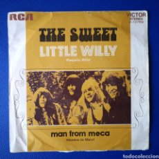 Discos de vinilo: THE SWEET - LITLE WILLY - SINGLE. Lote 245618360