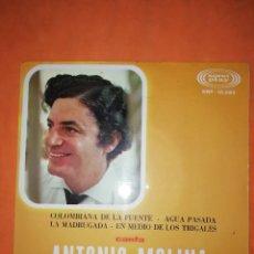 Discos de vinilo: ANTONIO MOLINA. COLOMBIANA DE LA FUENTE. SONO PLAY 1967. Lote 245620965