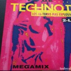 Discos de vinilo: TECHNISC II - LOS 46 TEMAS MÁS EXPLOSIVOS , 2 LP. Lote 245621225
